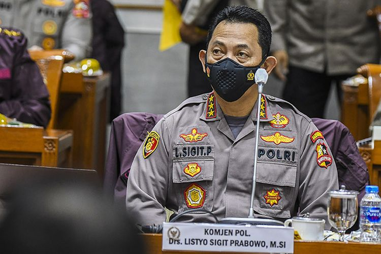 DPR Setujui Pengangkatan Komjen Listyo Sigit Prabowo sebagai Kapolri